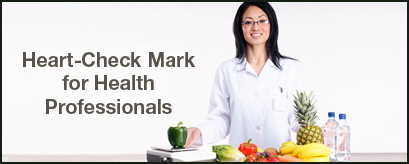 Heart-Check Mark for Health Professionals